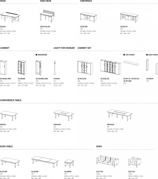 Muebles de oficina vitris serie premier class de sos fursys for Especificaciones tecnicas de mobiliario de oficina