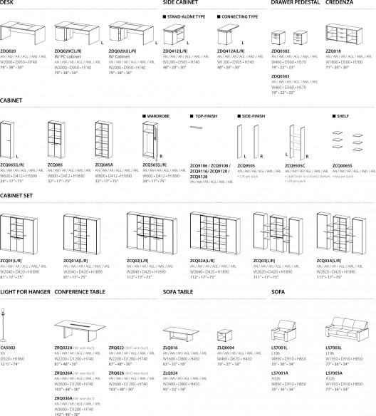 Muebles de oficina monarch serie premier class de sos fursys for Especificaciones tecnicas de mobiliario de oficina