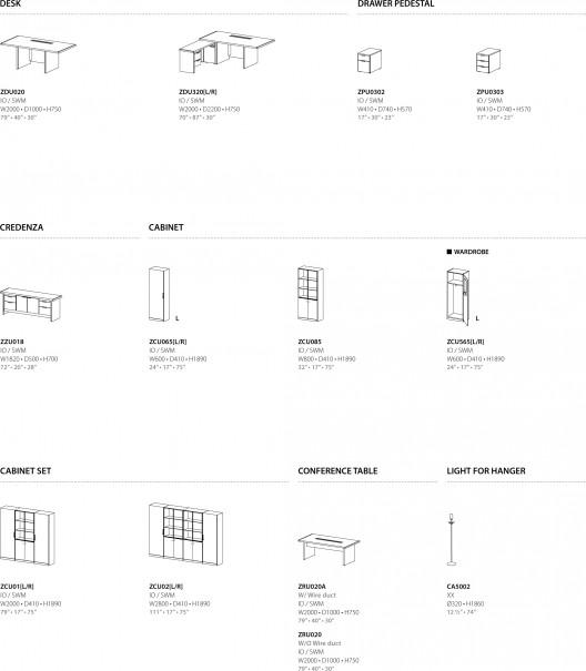 Muebles de oficina president serie premier class de sos for Especificaciones tecnicas de mobiliario de oficina