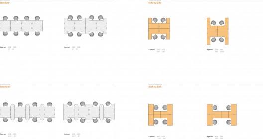 Sos fursys muebles de oficina de la l nea supertech for Especificaciones tecnicas de mobiliario de oficina