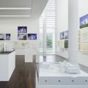 Happy Birthday Richard Meier! Colección del trabajo de Meier en el Museo Arp, diseñado por Meier. Imagen © David Ertl