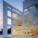 Happy Birthday Richard Meier! The Atheneum, New Harmony, Indiana. Imagen © Scott Frances, Cortesía de Richard Meier & Partners
