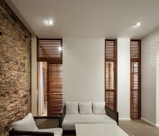 Arquitectura ingenier a y construcci n casa del horno - Divisiones en madera ...