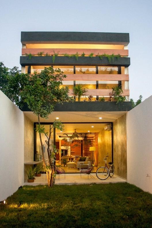 Loft px desnivel arquitectos planos de casas gratis for Casa minimalista a desnivel