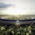 Which Architects Are Most Admired By Other Architects? Apple Campus II de Foster + Partner. Imagen © City of Cupertino