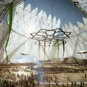 Dubai Wins World Expo 2020 Bid with HOK-Designed Master Plan Cortesía de HOK