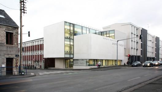 Centro cultural andr parent olivier werner architecte for Parent architecte