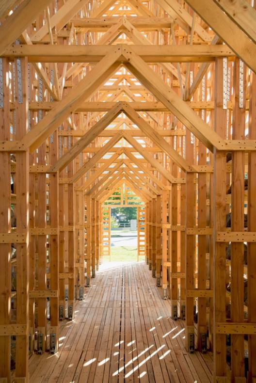 """Arte y Arquitectura: Instalación Temporal """"Mine Pavilion"""" por Pezo Von Ellrichshausen"""