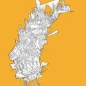"""Arte e Arquitetura: """"A Persistência do Traço"""" por André Rocha Gravity City © André Rocha"""