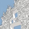 """Arte e Arquitetura: """"A Persistência do Traço"""" por André Rocha Hollow City © André Rocha"""
