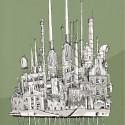 """Arte e Arquitetura: """"A Persistência do Traço"""" por André Rocha The Old Refinary © André Rocha"""