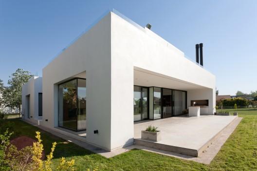 Argentina planos de casas gratis for Casas modernas rectangulares