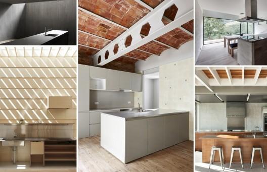 En detalle cocinas planos de casas gratis for Planos de cocinas grandes