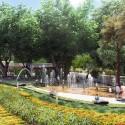 Primer Lugar Concurso Parque de Ciudad-Neiva / Colombia Estación Chorros. Image Cortesía de Obraestudio + Riqueza