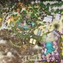 Primer Lugar Concurso Parque de Ciudad-Neiva / Colombia Implantación General. Image Cortesía de Obraestudio + Riqueza