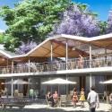 Primer Lugar Concurso Parque de Ciudad-Neiva / Colombia Locales Restaurantes. Image Cortesía de Obraestudio + Riqueza
