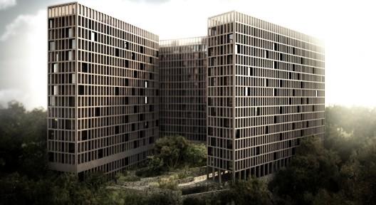 Proyecto Conjunto Habitacional LM de Luis Aldrete / México
