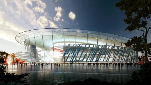 Woods Bagot Presenta Estadio Inspirado en el Coliseo para AS Roma