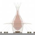 Proyecto WARKA: Torres de Bambú que recogen Agua Potable desde el Aire Elevación