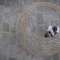 Proyecto WARKA: Torres de Bambú que recogen Agua Potable desde el Aire Cortesía de Arturo Vittori