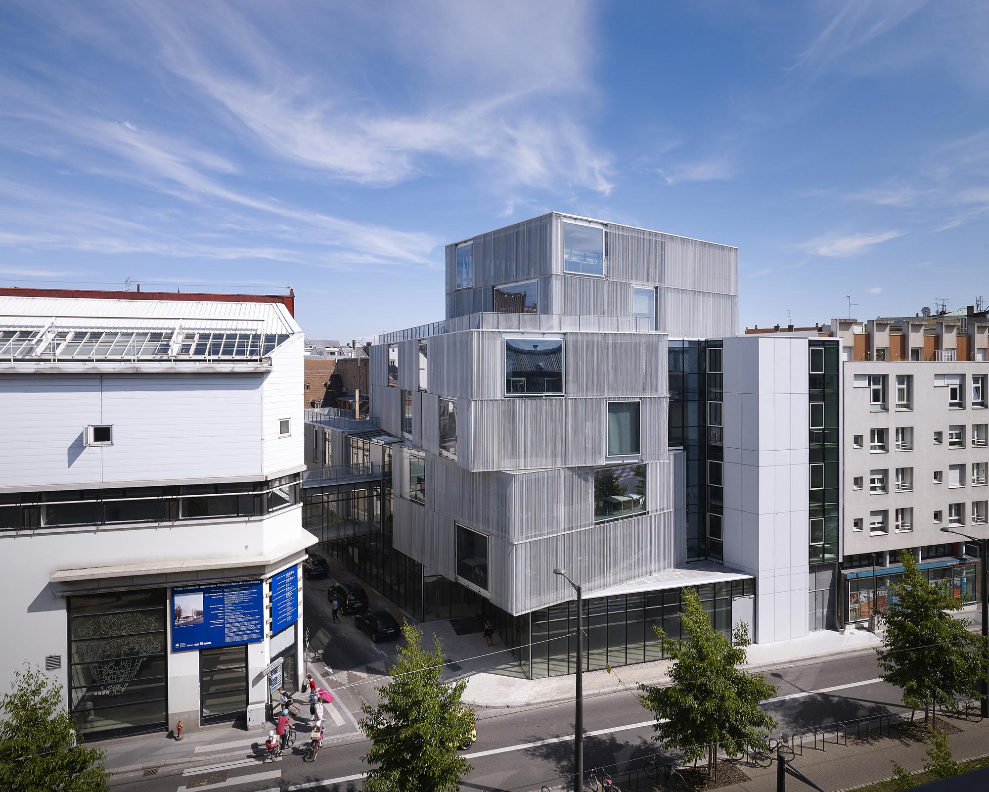 Escuela de arquitectura de estrasburgo marc mimram for Facultad arquitectura