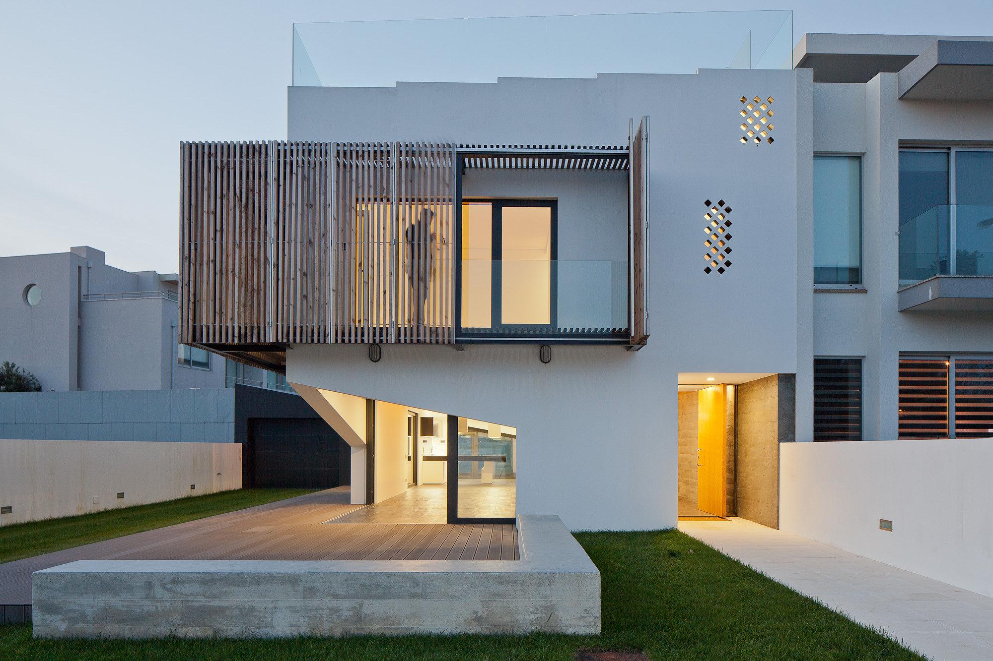 Vivienda en miramar e 348 arquitectura plataforma - Fachadas arquitectura ...