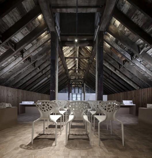 Estudio de Arquitectura en el Edificio Wujigeng / ISO workshop