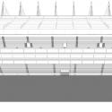 En Detalle: Estructuras a gran escala / Estadios Arena Castelão / Vigliecca&Associados. Corte Longitudinal
