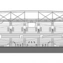 En Detalle: Estructuras a gran escala / Estadios Estadio Ankara Arena / Yazgan Design Architecture. Corte Longitudinal