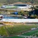 En Detalle: Estructuras a gran escala / Estadios Estadio Chinquihue / Cristián Fernández Arquitectos. Image © Felipe Diaz