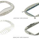 En Detalle: Estructuras a gran escala / Estadios Estadio de Fútbol Borisov / OFIS Architects. Diagrama Estructural