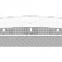 En Detalle: Estructuras a gran escala / Estadios Estadio de Fútbol Borisov / OFIS Architects. Corte Longitudinal