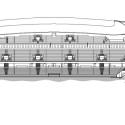 En Detalle: Estructuras a gran escala / Estadios Willmote Allianz Rivera / Wilmotte & Associés Sa. Corte Longitudinal