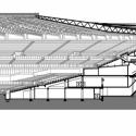 En Detalle: Estructuras a gran escala / Estadios Complejo Deportivo Mineirão / BCMF Arquitetos. Corte / Detalle